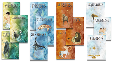 Zodiac Horoscope Planners
