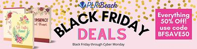 50% off everything at PLRBeach.com