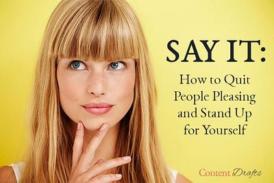 How to Quit People Pleasing and Stand Up for Yourself  PLR