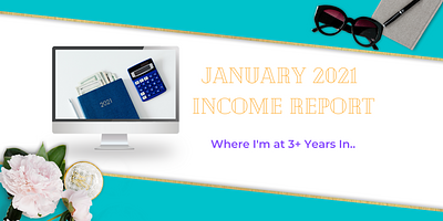 January 2021 Income Report For A Low-Content Business