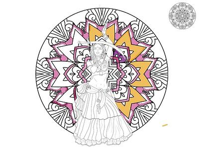 BellyDance Coloring Pages