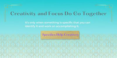 Creativity and Focus Do Go Together