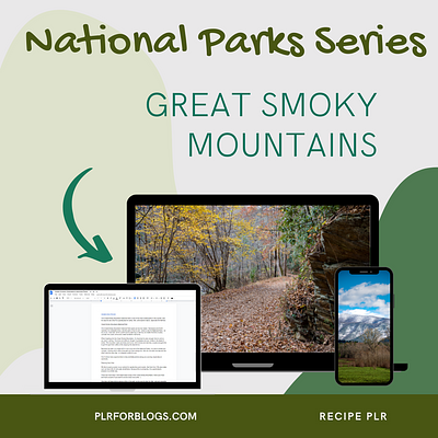 Great Smoky Mountains National Park Blog Content with PLR