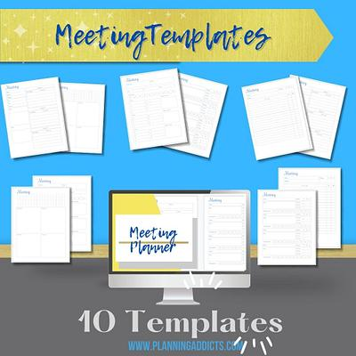 MEETING PLANNER TEMPLATES