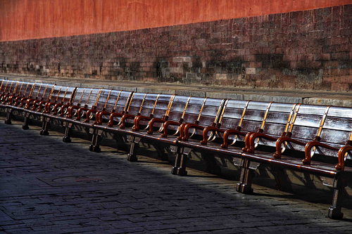 Open Seating in Forbidden City