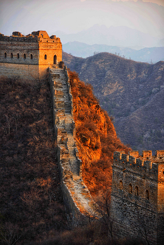 Sunset at the Great Wall