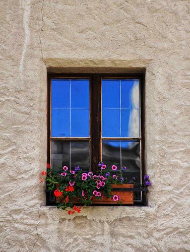 A Window in Salzburg, Austria