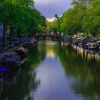 Quiet Canal, Amsterdam