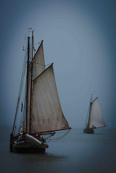 Setting Sail, Hoorn, Holland