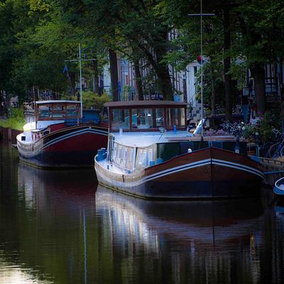 The Barges of Amsterdam