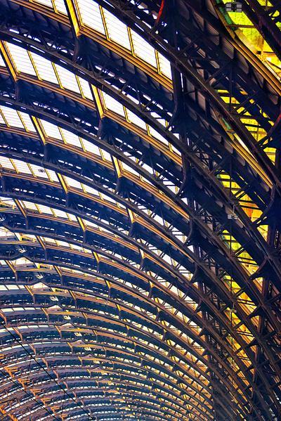 Sunlight Through the Ribs, Milan Train Station
