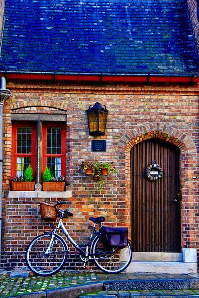Bike at the Ready, Brugge, Belgium