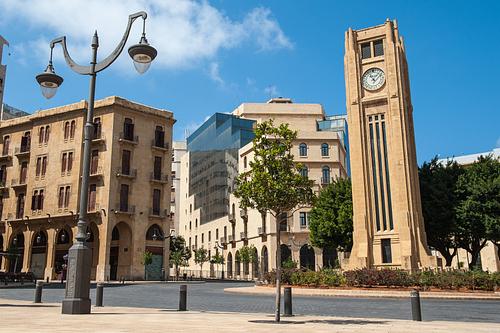 Nejmeh square Beirut