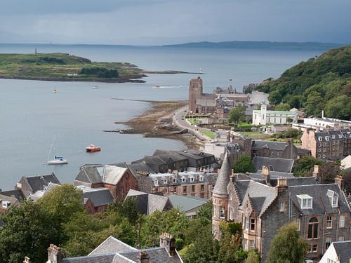 View over Oban Scotland
