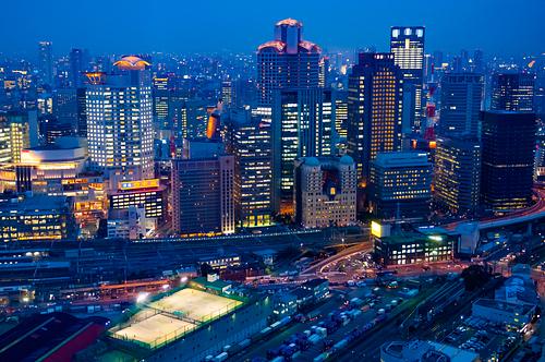 Osaka Blue Hour