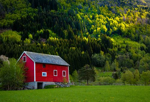 Traditional Norwegian Barn