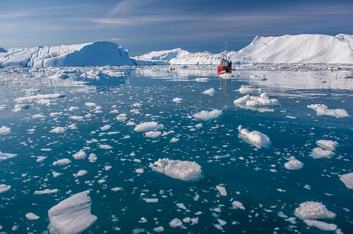 Giant Icebergs of Disko Bay