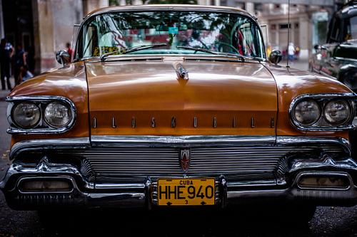 Old Oldsmobile in Havana