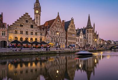 Ghent by Night - How this Blue Hour Image was Shot