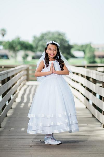 Lorena first communion