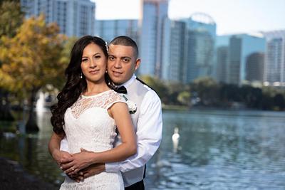 Giselle Lake Eola Wedding