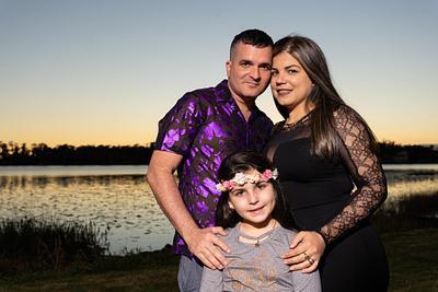 Rosauna Christmas Family Photoshoot