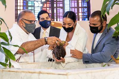 Heidy Calderon Baptism