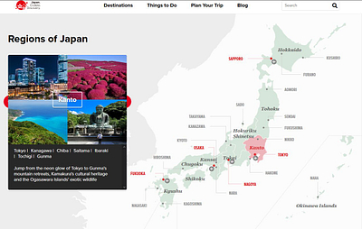 My Work for the Japan government's official tourism body, the Japan National Tourism Organization (JNTO)