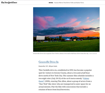 Beth Schneck Photography in the NY Times
