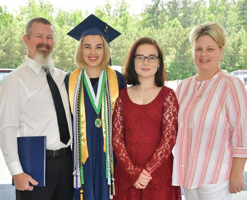 Perrien Family Grad Pictures 2019