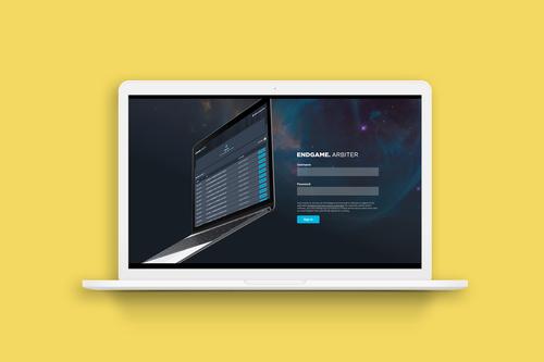 Web UX / Endgame's Cyber Security Cloud