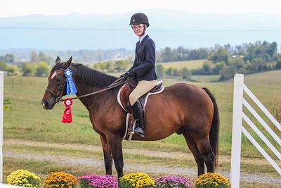 Crumley House Equestrian Club Horse Show 9-28-19