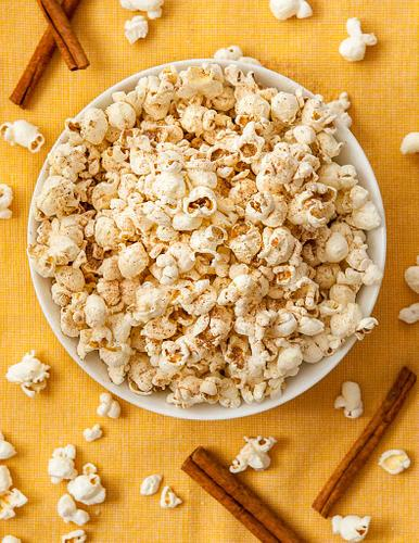 Fall Flavored popcorn
