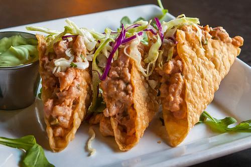 Spicy Ahi Tacos