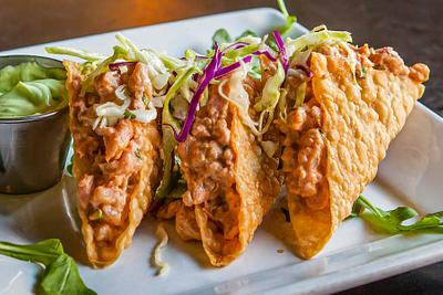 Spicy Ahi Tacos