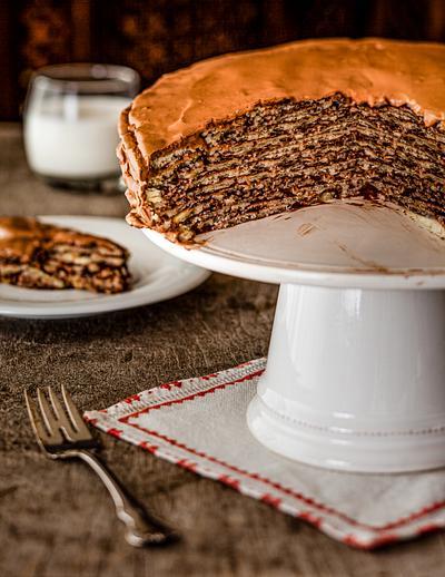 seven Layered Chocohlate cake