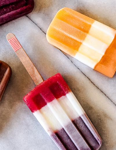 Popsicles on Marble