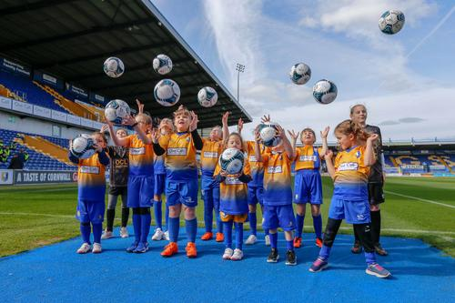 Mansfield Town FC Mascots 2018 - 2019
