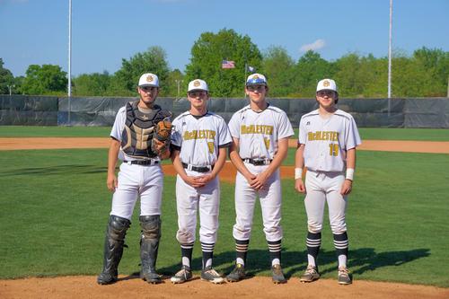 McAlester Baseball Seniors 2019