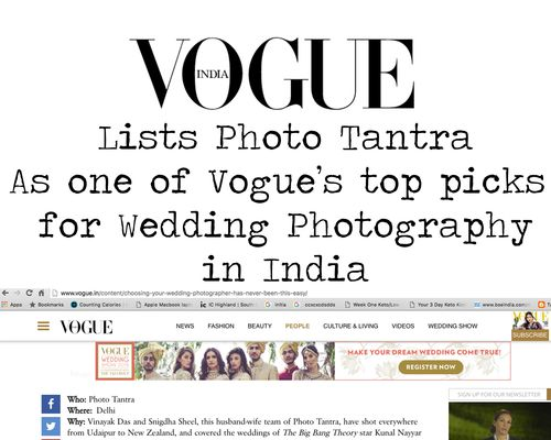 One of India's Top Wedding Photographers