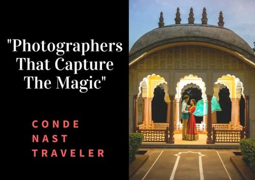 Phototantra top wedding photographer by Conde Nast Traveler