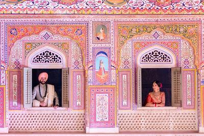 Kiran and Parvinder: The Gorgeous Destination Sikh Wedding at the  Samode Palace