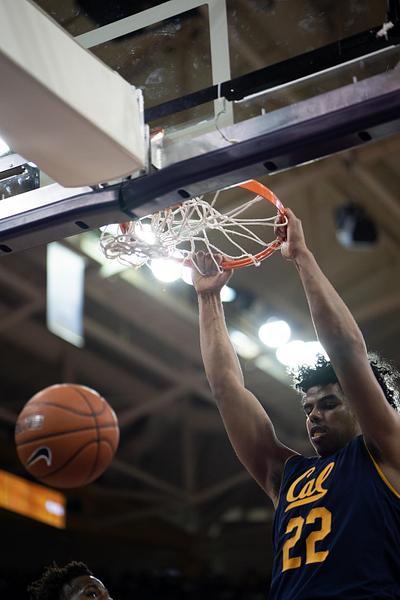 CAL M Basketball @ UW