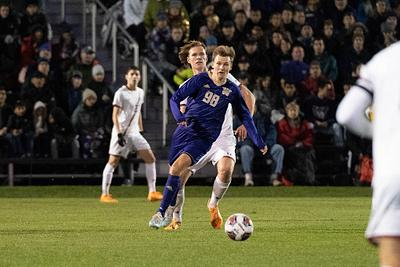 UW Men's Soccer vs Boston College