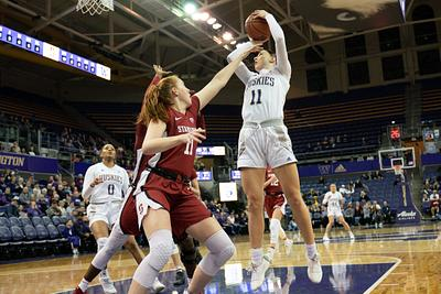 UW Women's Basketball vs Stanford