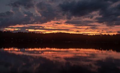 B-Day sunset