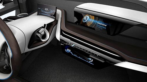 BMW i3 Instrument Cluster