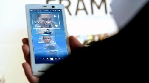 Sony Xperia X10 Mobile UI