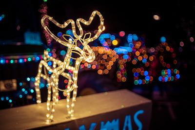 Secret Santa Lichtjes Parade