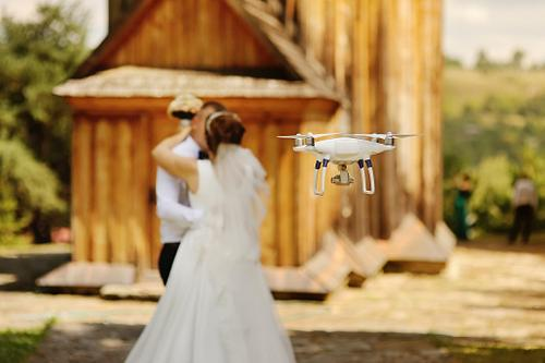 Should I get The drone feature for my wedding film & Wedding Photography?